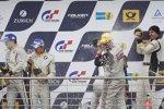 Champagner für die Sieger