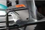 Frontflügel des Mercedes F1 W04