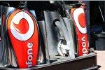Seitenkästen des McLaren MP4-28