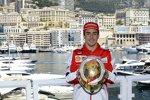 Goldener Helm von Fernando Alonso (Ferrari)