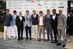 Adrian Sutil (Force India), Esteban Gutierrez (Sauber), Valtteri Bottas (Williams), Jules Bianchi (Marussia), Max Chilton (Marussia), Charles Pic (Caterham) und Giedo van der Garde (Caterham)