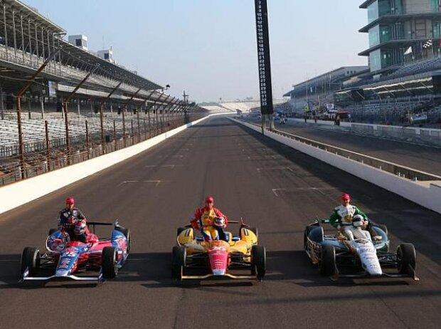 Carlos Munoz, Ed Carpenter, Marco Andretti