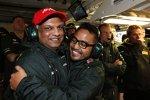 Tony Fernandes und Riad Asmat