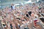 Die Fans am Carb-Day-Konzert