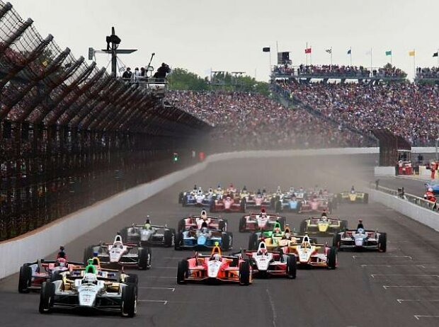 Indy 500 Indianapolis 2013 Start