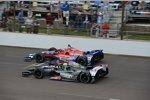 Tony Kanaan (KV) und Marco Andretti (Andretti)