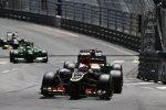 Romain Grosjean (Lotus) und Adrian Sutil (Force India)