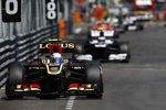Romain Grosjean (Lotus) und Valtteri Bottas (Williams)