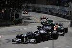 Pastor Maldonado (Williams) und Paul di Resta (Force India)