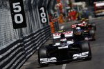 Valtteri Bottas (Williams), Jean-Eric Vergne (Toro Rosso) und Romain Grosjean (Lotus)