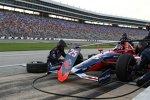 Marco Andretti bestimmt die Anfangsphase