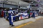 Alexander Wurz, Nicolas Lapierre und Kazuki Nakajima (Toyota)