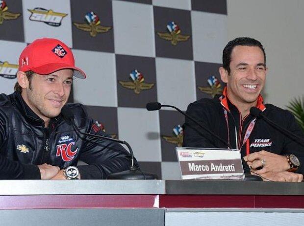 Marco Andretti, Helio Castroneves