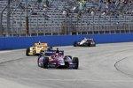 Marco Andretti, Ryan Hunter-Reay (beide Andretti) und Will Power (Penske)