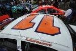 Denny Hamlin fuhr in Erinnerung an Jason Leffler in dessen Farben aus der Saison 2005