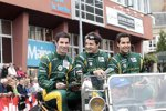 Alexander Rossi, Eric Lux und Tom Kimber-Smith (Greaves)