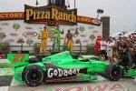 James Hinchcliffe (Andretti) und Tony Kanaan (KV)