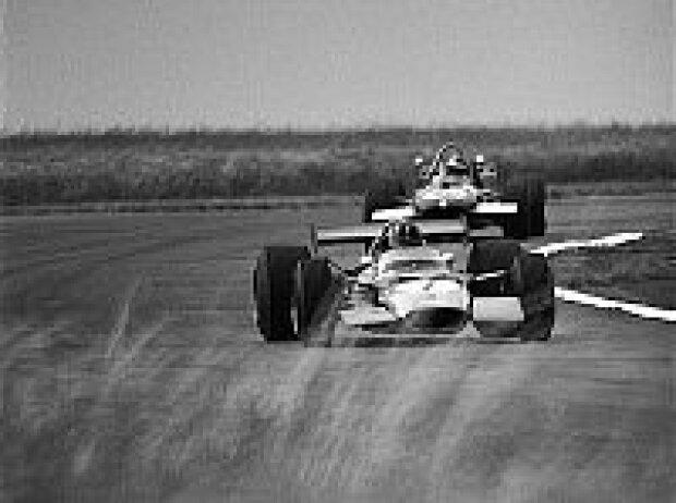 Graham Hill und Piers Courage