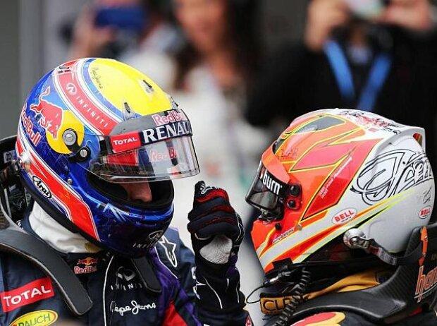 Mark Webber, Kimi Räikkönen