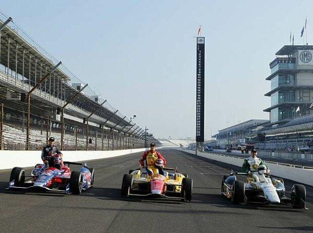 Marco Andretti, Carlos Munoz, Ed Carpenter