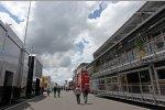 Paddock am Nürburgring