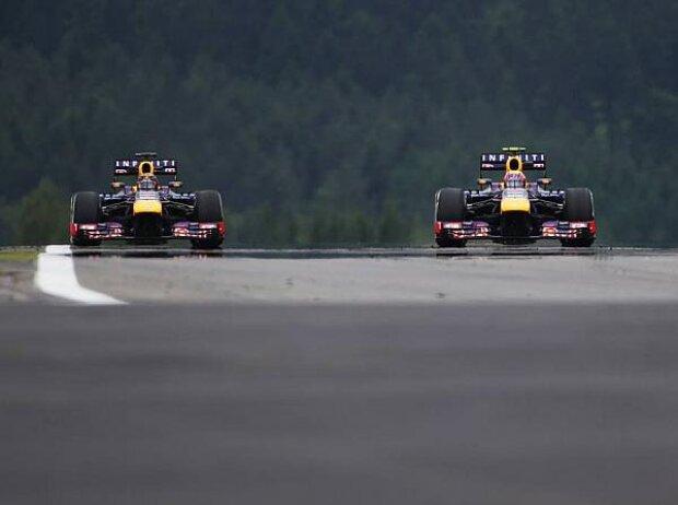 Sebastian Vettel, Mark Webber