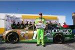 Kyle Busch (Gibbs) auf der Daytona-Pole
