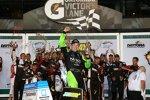Matt Kenseth nach seinem ersten Nationwide-Saisonsieg in der Victory Lane