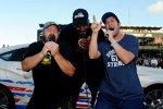 Kevin James, Shaquille O'Nel und Adam Sandler geben das Startkommando