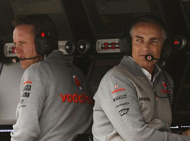 Martin Whitmarsh, Sam Michael