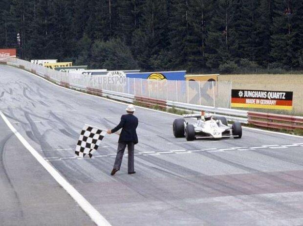 Alan Jones gewinnt den Grand Prix von Österreich 1979
