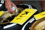 Reifenmarkierung für Kimi Räikkönen (Lotus)