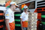 Paul di Resta (Force India) und Adrian Sutil (Force India)
