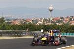 Sebastian Vettel (Red Bull) war am Vormittag der Schnellste