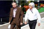Jean Todt und Bernie Ecclestone