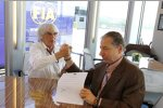Bernie Ecclestone und Jean Todt