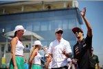 Nico Hülkenberg (Sauber) und Daniel Ricciardo (Toro Rosso)