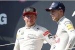 Kimi Räikkönen (Lotus) und Sebastian Vettel (Red Bull)