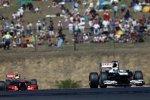 Pastor Maldonado (Williams) und Sergio Perez (McLaren)