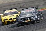 Roberto Merhi (HWA-Mercedes) und Timo Glock (MTEK-BMW)