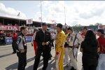 Will Power (Penske), Tim Cindric und Ryan Hunter-Reay