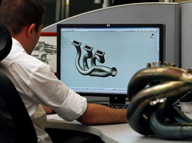V6-Turbo, Entwicklung, Design, CAD, Renault