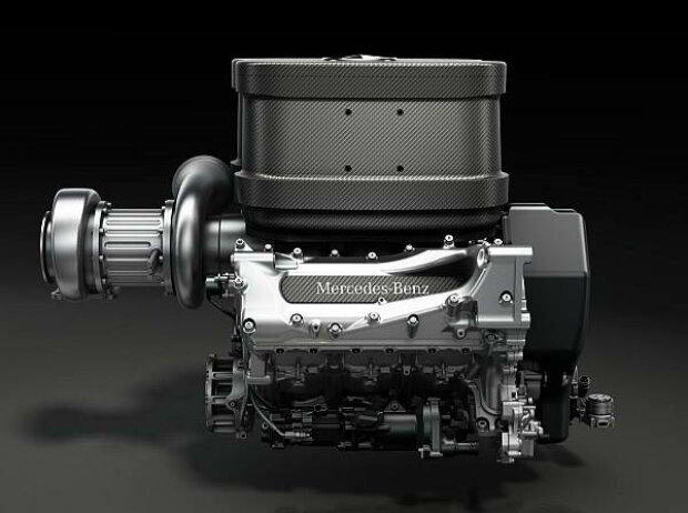 Mercedes-V6-Turbomotor für die Formel-1-Saison 2014