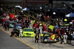 Action in der Pitlane des Michigan Speedway