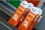 Force India hat Ersatznasen bereitgestellt