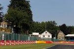 Strecke in Spa-Francorchamps