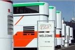 Teamtrucks von Force India