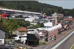 Alte Boxengasse in Spa-Francorchamps