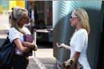 Adrian Sutils Freundin Jennifer Becks (rechts)
