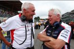 John Booth und Pat Symonds